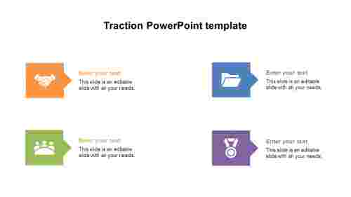 Traction PowerPoint template