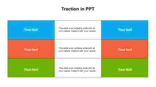 Traction in PPT