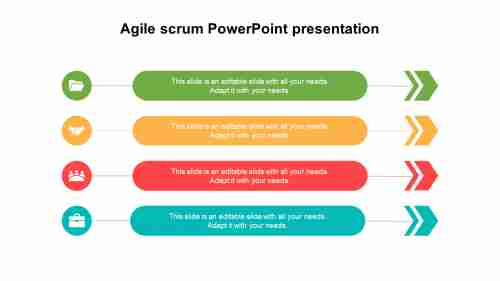 Agile scrum PowerPoint presentation