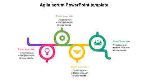 Agile scrum PowerPoint template