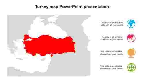 TurkeymapPowerPointpresentationtemplates