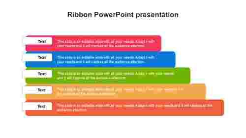 Ribbon PowerPoint presentation