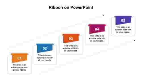Ribbon on PowerPoint