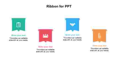 Ribbon for PPT