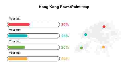 SimpleHongKongPowerPointmaptemplates