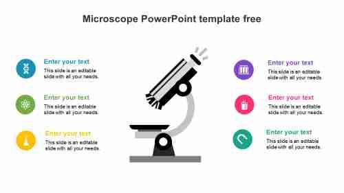MicroscopePowerPointtemplatefreedownload