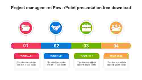 Simple%20Project%20management%20PowerPoint%20presentation%20free%20download