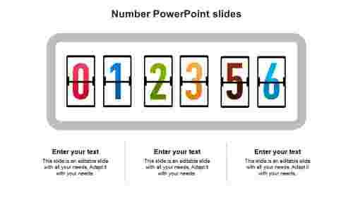 NumberPowerPointslidestemplates