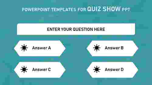 POWERPOINT TEMPLATES FOR QUIZ SHOW PPT