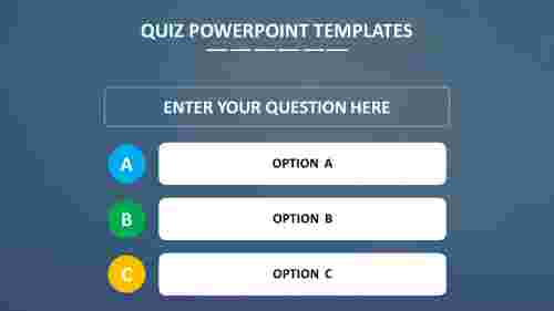 QUIZ POWERPOINT TEMPLATES