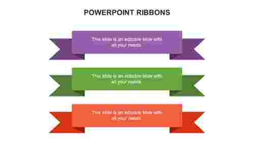 POWERPOINT RIBBONS
