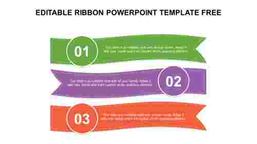 EDITABLE RIBBON POWERPOINT TEMPLATE FREE