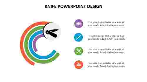 Knife%20PowerPoint%20design%20in%20circular%20model