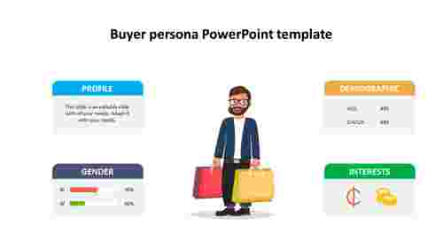 Buyer persona PowerPoint template