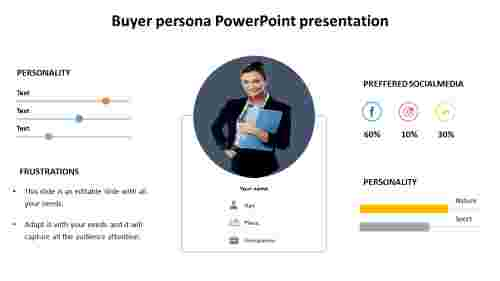 Buyer persona PowerPoint presentation