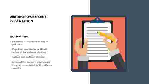 writing%20powerpoint%20presentation%20template