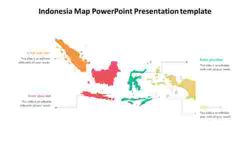 A%204%20noded%20Indonesia%20Map%20PowerPoint%20Presentation%20template%20design