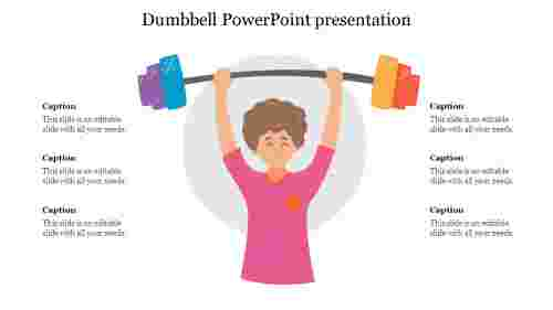 Simple%20Dumbbell%20PowerPoint%20presentation