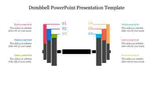 Editable%20%20Dumbbell%20PowerPoint%20Presentation%20Template