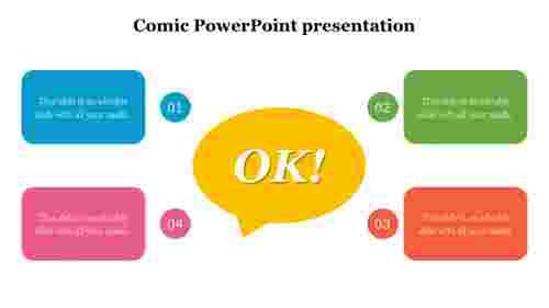 Funniest%20Comic%20PowerPoint%20Presentation%20Template%20Diagram