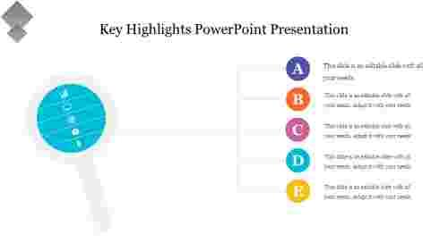 Key%20Highlights%20PowerPoint%20Presentation%20template%20diagram