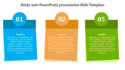 Sticky%20note%20PowerPoint%20presentation%20Slide%20Template%20design