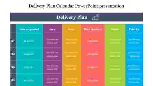 Delivery%20Plan%20Calendar%20PowerPoint%20presentation%20template