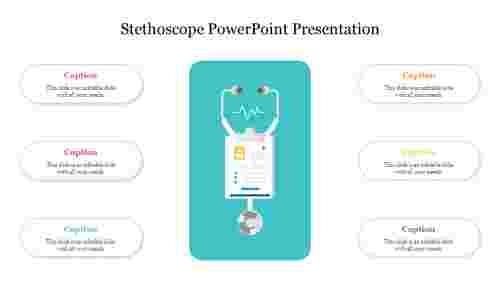 Editable%20Stethoscope%20PowerPoint%20Presentation%20Slide%20PPT