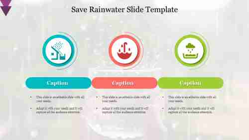 Protect%20And%20Save%20Rainwater%20Slide%20Template%20Diagram