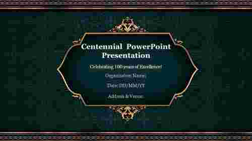 Attractive%20Centennial%20%20PowerPoint%20Presentation%20Template