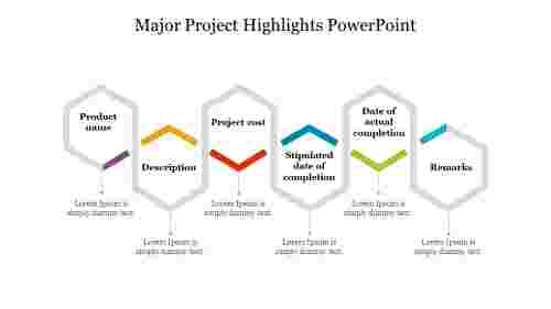 Major%20Project%20Highlights%20PowerPoint%20In%20Hexagon%20Model