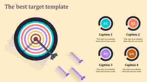 target template powerpoint-the best target template-multicolor-4