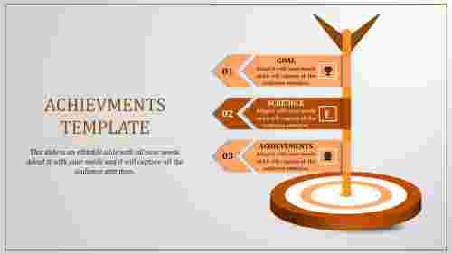 achievement powerpoint presentation-achievement Templates-3-orange
