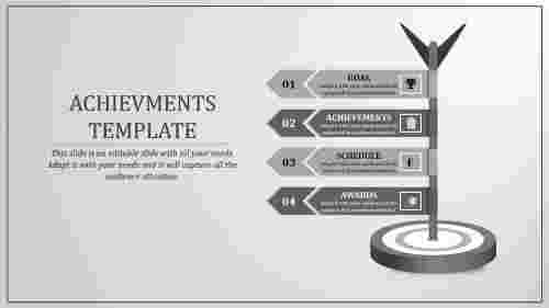 Strategy plan achievement powerpoint presentation