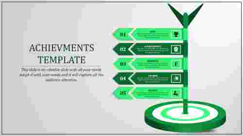 achievement powerpoint presentation-achievement Templates-5-green