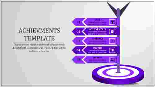 achievement powerpoint presentation-achievement Templates-5-purple