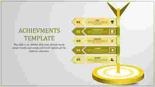 Objectives of Achievement powerpoint presentation
