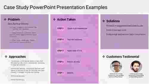 Case Study PowerPoint Presentation Examples-5-purple