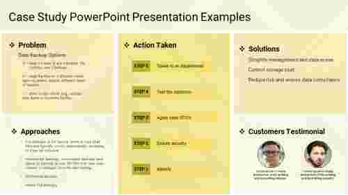 Case Study PowerPoint Presentation Examples-5-yellow