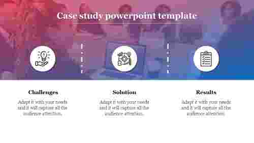 Free case study PPT template for business