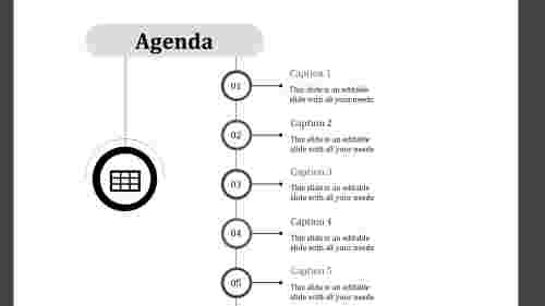 powerpoint agenda template-agenda-gray