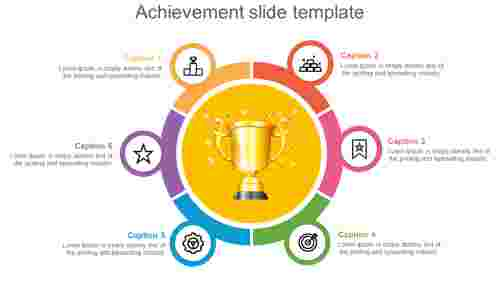 achievement slide template