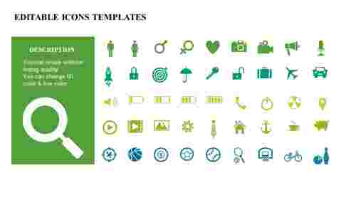 icons for powerpoint slides-editable -icons