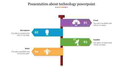 ArrowPresentationabouttechnologypowerpoint
