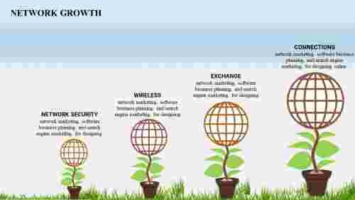 growthPPTtemplate