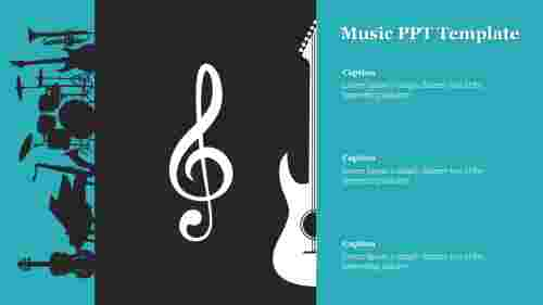Creative%20Music%20PPT%20Template%20For%20Presentation