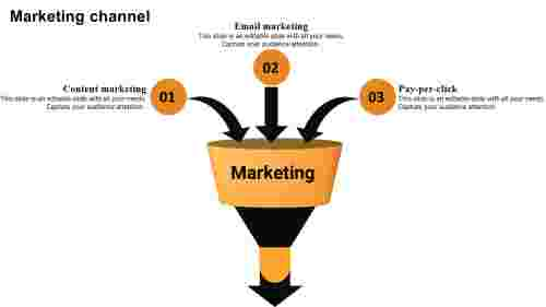 Themarketingfunneltemplatepowerpoint
