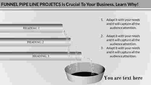 Powerpoint pipeline template-funnel -presentation