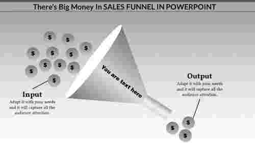 Visual Sales Funnel Powerpoint