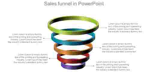 Sales Funnel Powerpoint presentation